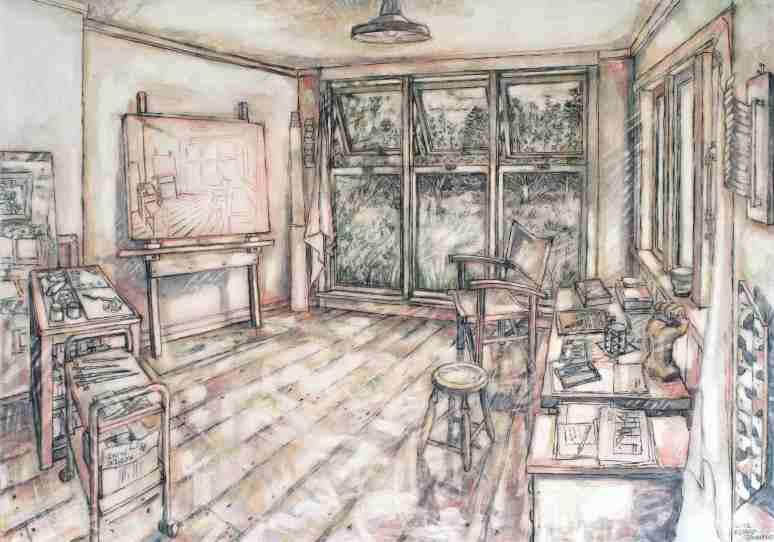 The Artist's Studio - Oratia