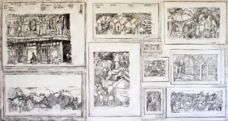 A Composition of Drawings - Auckland