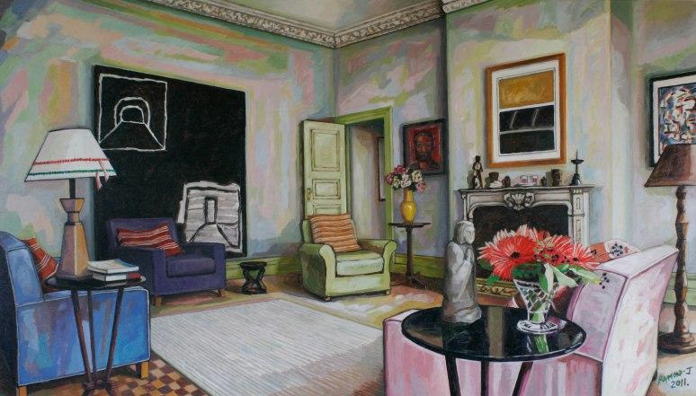 A New Zealand Art Collector's Interior
