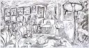 Gauguin Room_preliminary drawing