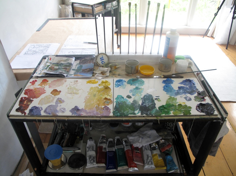 Palette for Gauguin Room
