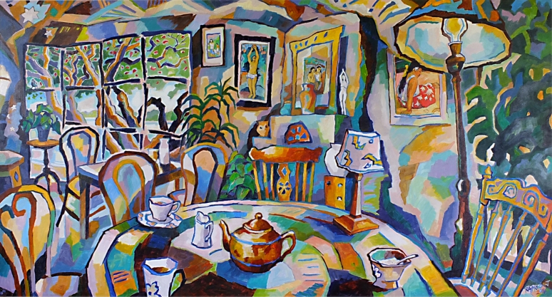 Gauguin Room - finished work
